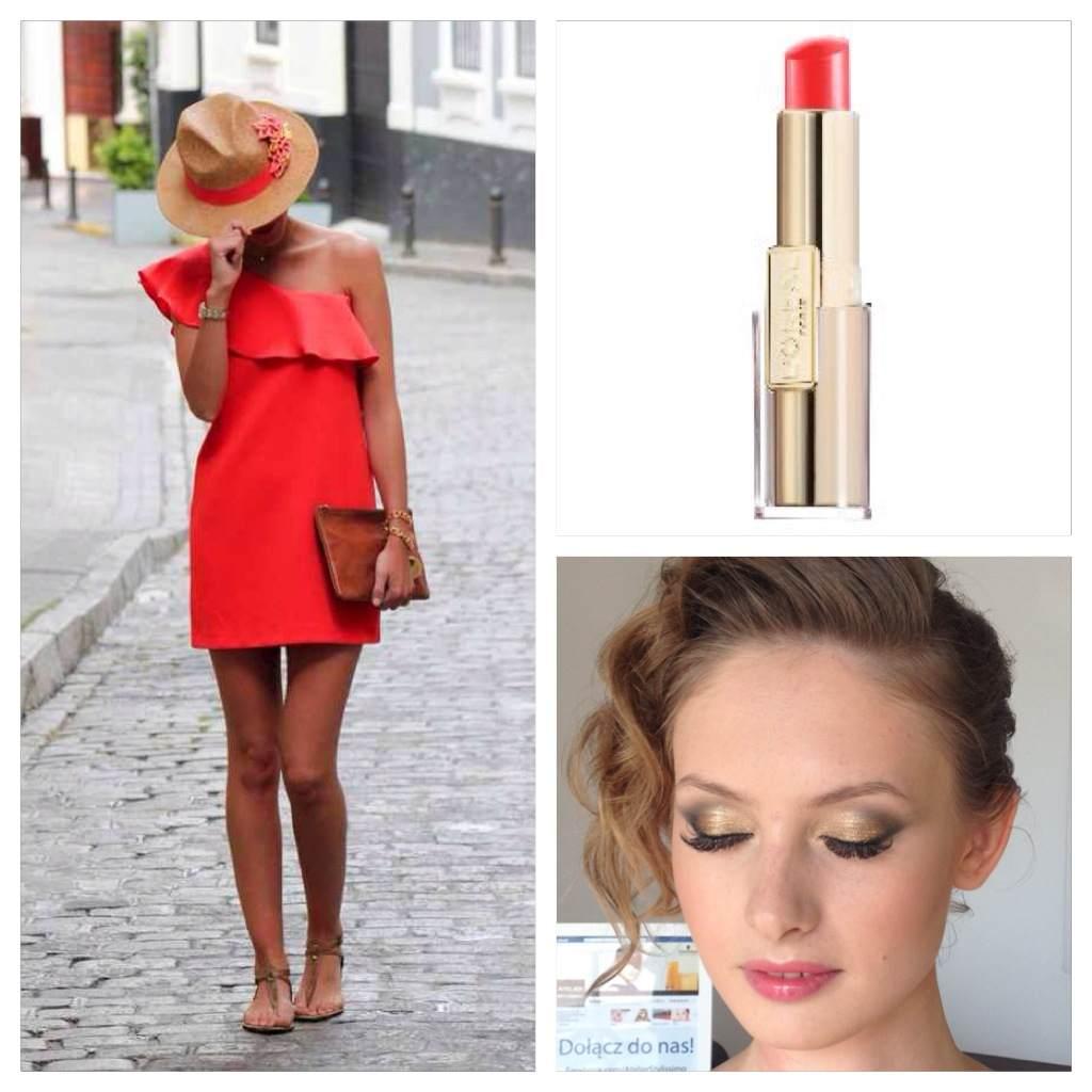 Jak Dobrać Makijaż Do Czerwonej Sukienki