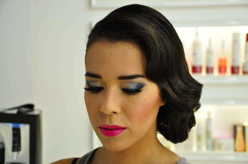 macademian girl makijaż granatowy